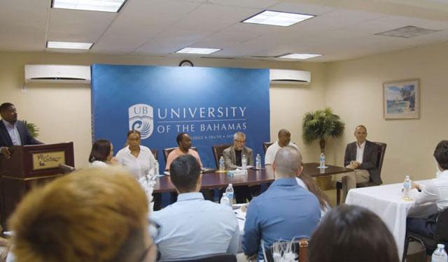 Miami Herbert Business School, Bahamas, MBA students
