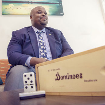 Ryan C. Holmes, Dominoes,  Student Affairs