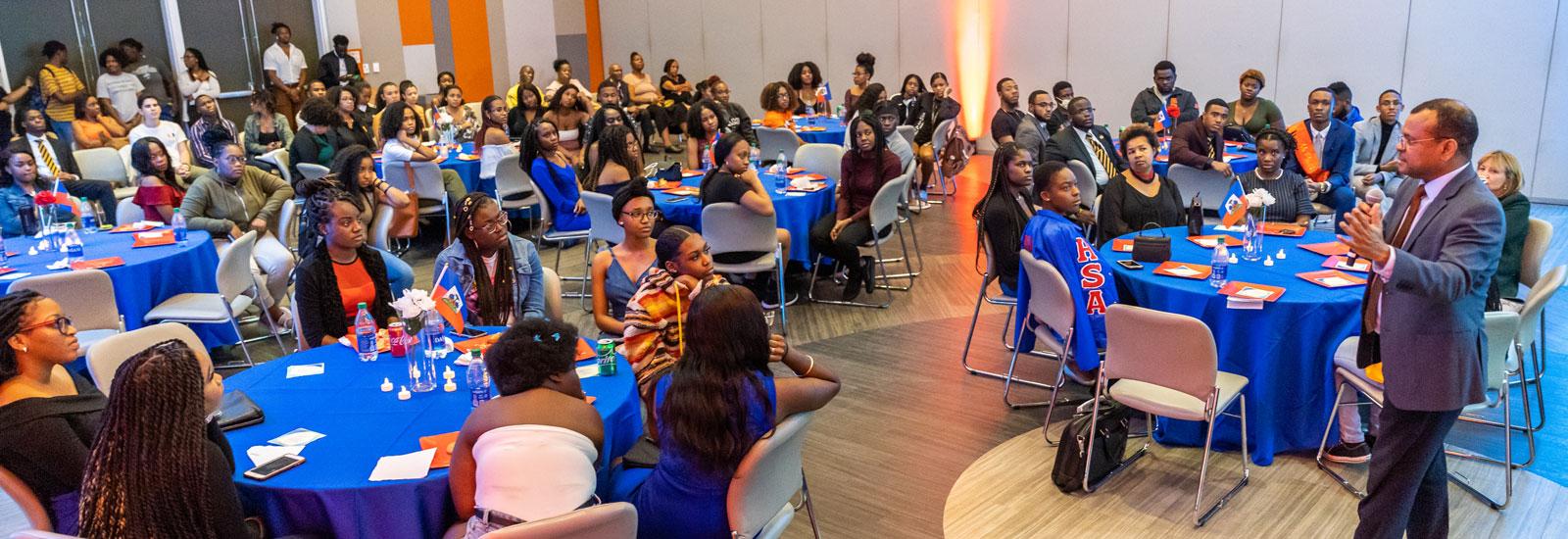 Planet Kreyol students gather to remember Haiti earthquake victims